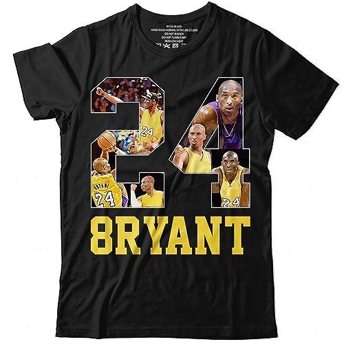 Amazon.com: Kobe-Bryant No.24 The Man The LA Basketball Jersey Big ...