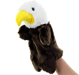 Plush Eagle Hand Puppets Stuffed Animal Toys for Imaginative Pretend Play Stocking Storytelling