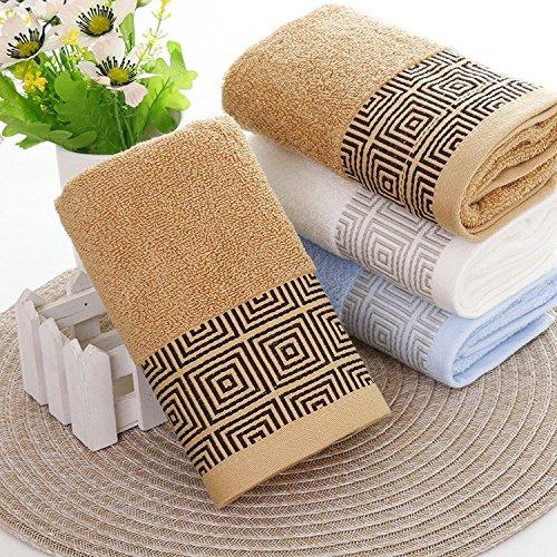 Algodón puro respaldo Carácter toalla productos diarios chal de algodón