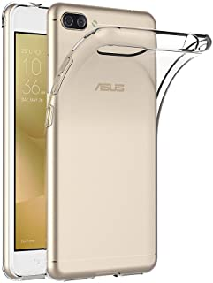Gosento ZenFone 4 Max ZC520KL ケース クリスタル クリア 透明 ASUS ZenFone 4 Max ZC520KL TPU素材 保護カバー (クリア)