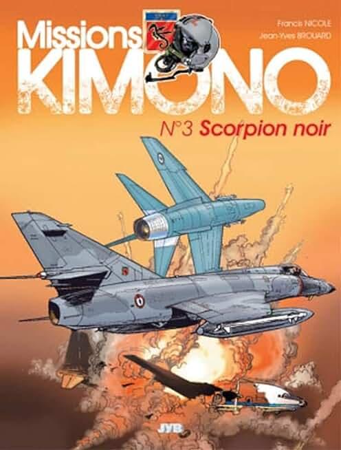 Missions Kimono, tome 3 : Scorpion noir