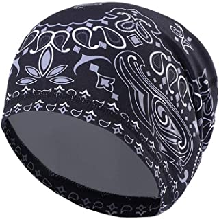 c4d187f5b47 UHEREBUY Winter Running Beanie Cap Cold Weather Skull Cap Warm Fleece Hat  Chemo Cap
