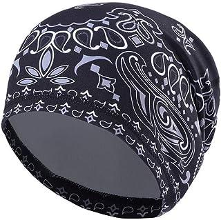 UHEREBUY Summer Running Skull Cap/Beanie Cap/Helmet Liner/Dew rag/Chemo Cap/Bald Cap for Men and Women Hat Liner