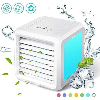 Baban Mini refrigerador de aire 3 en 1, aire acondicionado móvil ...