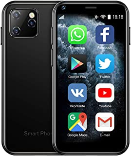 SOYES XS11 3G Mini Smartphone 2.5Inch WiFi GPS RAM 1GB ROM 8GB Quad Core Android 6.0 Cell Phones 3D Glass Slim Body HD Cam...