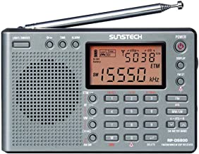 Sunstech RP-DS 800 - Radiodespertador (Digital, AM, FM, LW, SO, LCD), gris