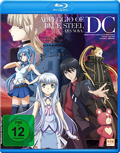 Arpeggio of Blue Steel - Ars Nova - DC [Blu-ray]