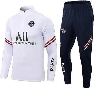 HHOME Paris Voetbaltrainingspak, voetbalclub, heren, lange mouwen, ademend, sport, training, fitness, looppak, joggingpak
