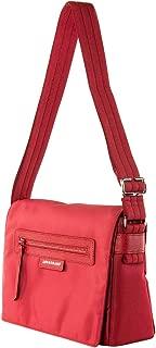 Longchamp Women's Le Pliage Neo Hobo Nylon Messenger Hadbag Red