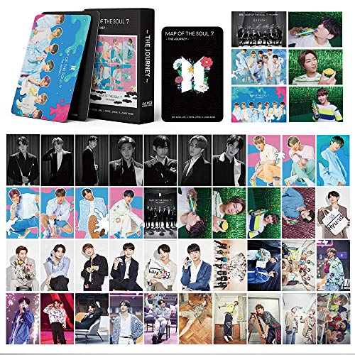 BTS LOMO Cards 54Pcs BTS Map of The Soul 7 Card Nueva tarjeta de álbum BANTAN Boys...