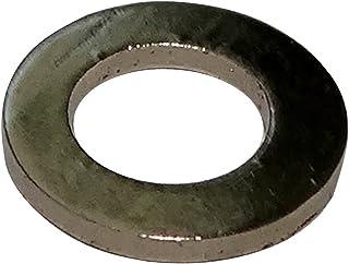 SOURCING MAP sourcingmap/® Lavadora plana arandela plana de acero inoxidable en forma redonda 100Pcs M5x10mmx0.5mm
