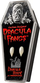 Dracula House Designer Theatre Quality Vampire Dracula Fangs Accessory Large