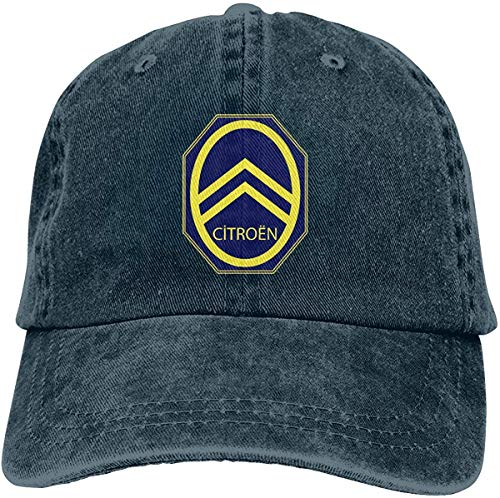 Lifewfrc2018 Runxin Design Citroen Automobiles Logo 1936 Funny Baseball Caps for Men Black