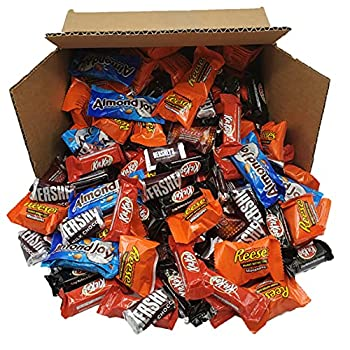 Hershey s Chocolate Variety Pack Fun Size Individually Wrapped Candy Bars - 4 Pound