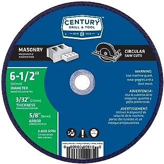 Century Drill & Tool 8606 Masonry Abrasive Saw Blade, 6-1/2