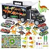 Camión Transportador de Dinosaurios incluir Huevos de Dinosaurio...