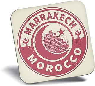 Destination Vinyl ltd Awesome Fridge Magnet - Morocco Marrakech Travel 7447