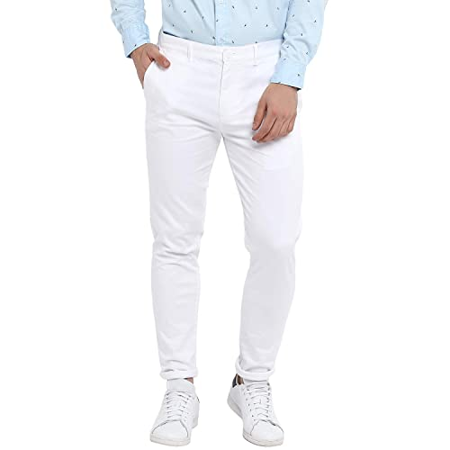 a3815189405 White Trouser: Buy White Trouser Online at Best Prices in India ...