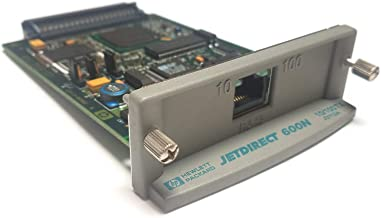 USA Printer Company HP 600N JetDirect Card (J3113A, J3113-60012) Fast Ethernet EIO Internal Print Server w/ 2MB Memory & 10/100Base-TX Network