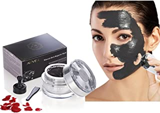 Aliver Mineral-Rich Magnetic Face Mask Pore Cleansing Removes Skin Impurities with Iron Based Skin Revitalising Magnetic Age-Defier Formula 50ml