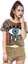 Best evil eye sequin top Reviews