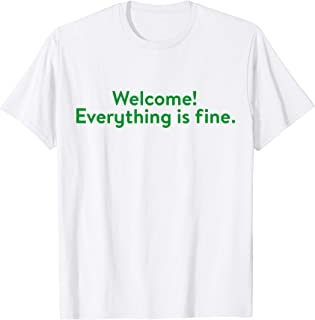 Welcome! Everything is Fine, Quote, Spiritual, Yoga