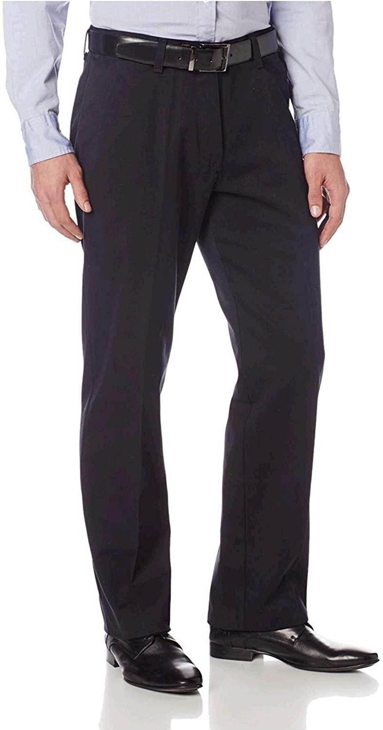 Lee Men's New product!! Stain Resistant Relaxed-Fit Flat-Front Pant New York Mall Denim