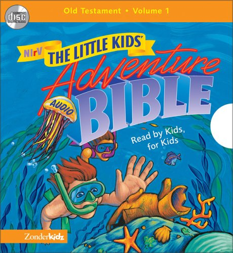 NIrV Little Kids Adventure Audio Bible Vol 1