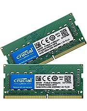Crucial ノートPC用 メモリ PC4-25600(DDR4-3200) 32GB(16GBx2枚) SODIMM CT16G4SFS832A [並行輸入品]