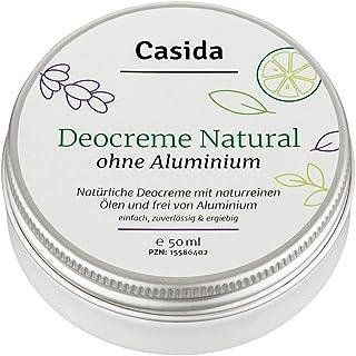Casida - Crema desodorante sin aluminio natural – crema