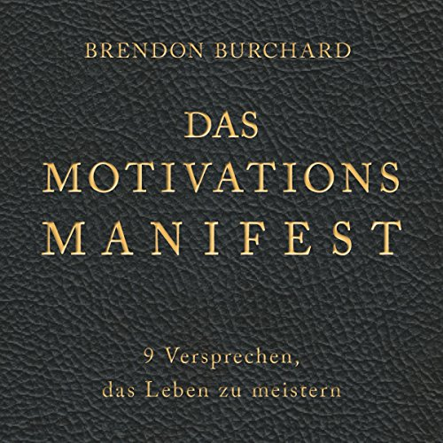 Das MotivationsManifest audiobook cover art