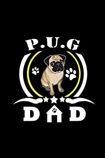 P.U.G. Dad: Notebook | Journal | Diary | 110 Lined pages