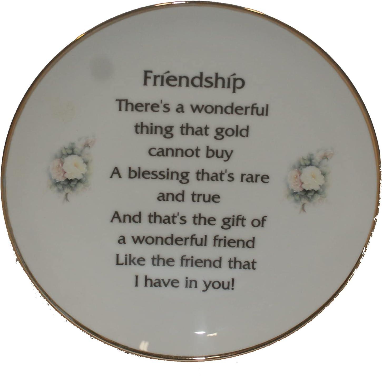 Harvey J Friendship Poem High quality Plate 8