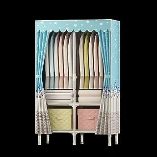 LyMei Armoire de Rangement, Armoire de Stockage de Stockage de vêtements de Garde-Robe de Tissu portatif d'armoire, Tissu ...