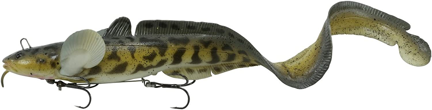 Savage Gear BT500WE 3D Burbot Tail Bait, Walleye, 19 3 4