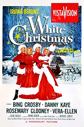 """White Christmas Movie Poster Glossy Finish Made in USA - FIL731 (24"""" x 36"""" (61cm x 91.5cm))"""