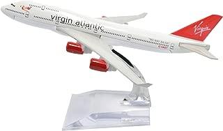 TANG DYNASTY(TM) 1:400 16cm Boeing B747-400 Virgin Atlantic Metal Airplane Model Plane Toy Plane Model