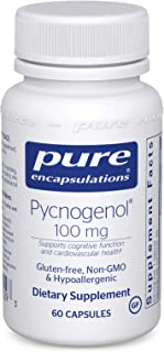 Pure Encapsulations - Pycnogenol 100 mg - Hypoallergenic Supplement to Promote Vascular Health and Provide Antioxidant Sup...