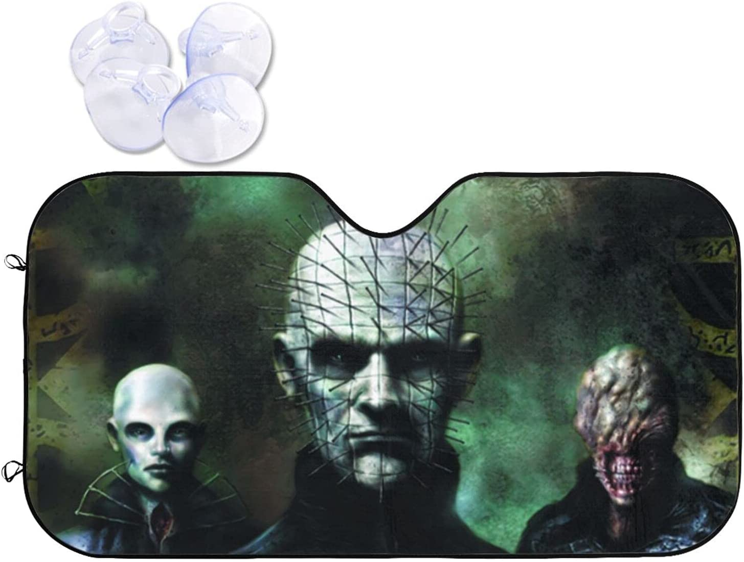 Hellraiser National products Car Sunshade Heat and Prevention Visor Windshield shopping Sun