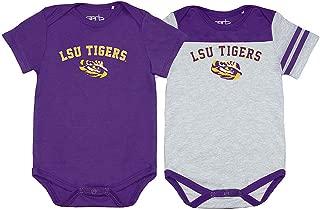 Elite Fan Shop NCAA Infant/Baby Snap Onesie Two Pack