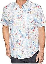 Tommy Bahama Nueva Vida Floral Silk Blend Camp Shirt