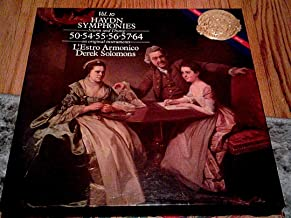 Haydn: Symphonies 50, 54, 55, 56, 57, 64 - Derek Solomons and L`Estro Armonico