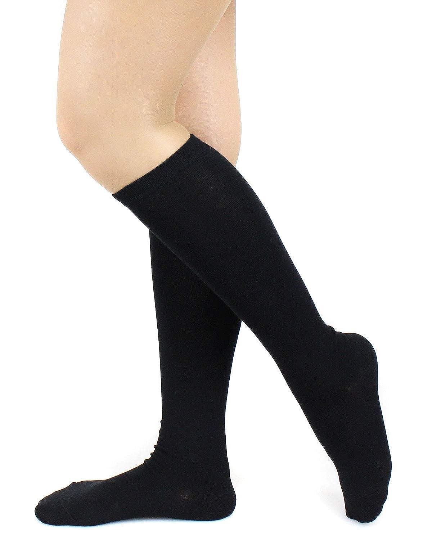 日本製靴下 銀の消臭加工ハイソックス 1足 ブラック レディース