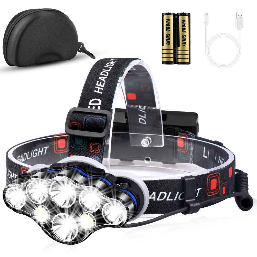 MOICO Brightest Flashlight Rechargeable Waterproof