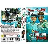 Der $ 100.00 Fisch - Danny Glover - VHS-Einleger A4 - ohne Cassette/Hülle