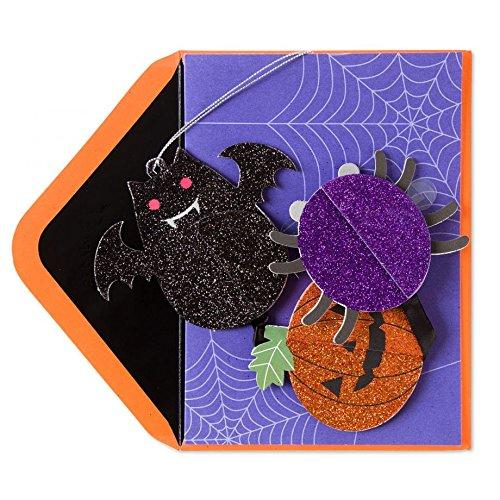 Papyrus Honeycomb Halloween Mobile Card