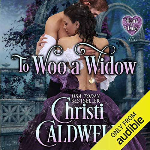 To Woo a Widow audiobook cover art