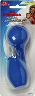 Ezy Dose Ear Syringe and Nasal Aspirator, 2 count, Pack of 2