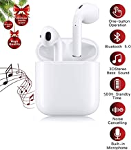 Bluetooth 5.0 Wireless Earbuds Sports 3D Stereo...