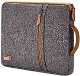 Lonmen - Custodia di protezione per computer portatile da 12,5 – 13 pollici, per tablet/13', MacBook Pro / 12,9', iPad Pro/Lenovo ThinkPad X1 Tablet/Dell Latitude 7290, colore: Marrone